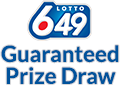British Columbia  Guaranteed Million Draw Winning numbers